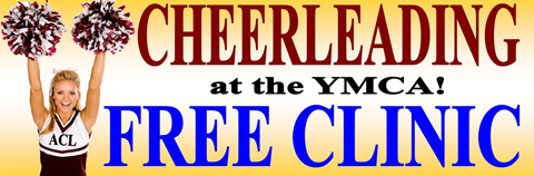 Free Cheer clinic Banner Ad 2