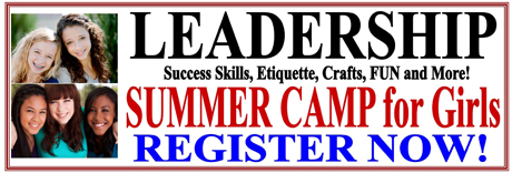Website Banner Ads Summer Camp - Leadership 460