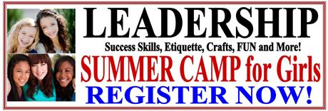 Website Banner Ads Summer Camp - Leadership 460